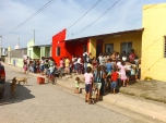 Villa Guadalupe is the neighborhood where the people who lived and worked in La Chureca, Managua's landfill, were relocated in 2013.